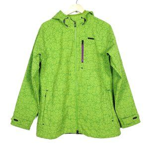 Under Armour Lime Bright Green Zipper Pockets Coat